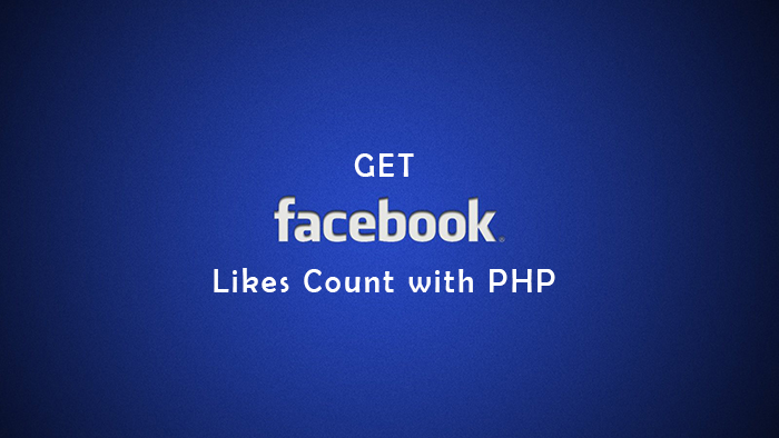 Facebook Likes Count with PHP