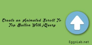 Create an Animated Scroll To Top Button With jQuery