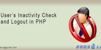 User's Inactivity Check and Logout in PHP